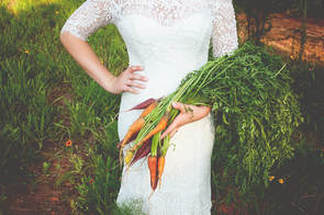 Pleasant Union Farm provides Farm to Table wedding packages featuring local produce