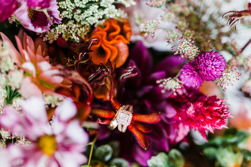 Garden style wedding bouquet by Stems Atlanta