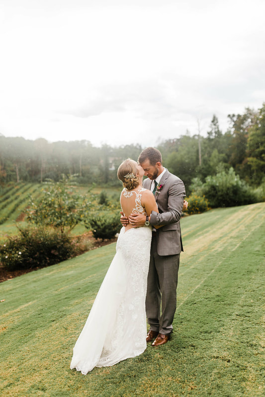 Wedding with views near Atlanta
