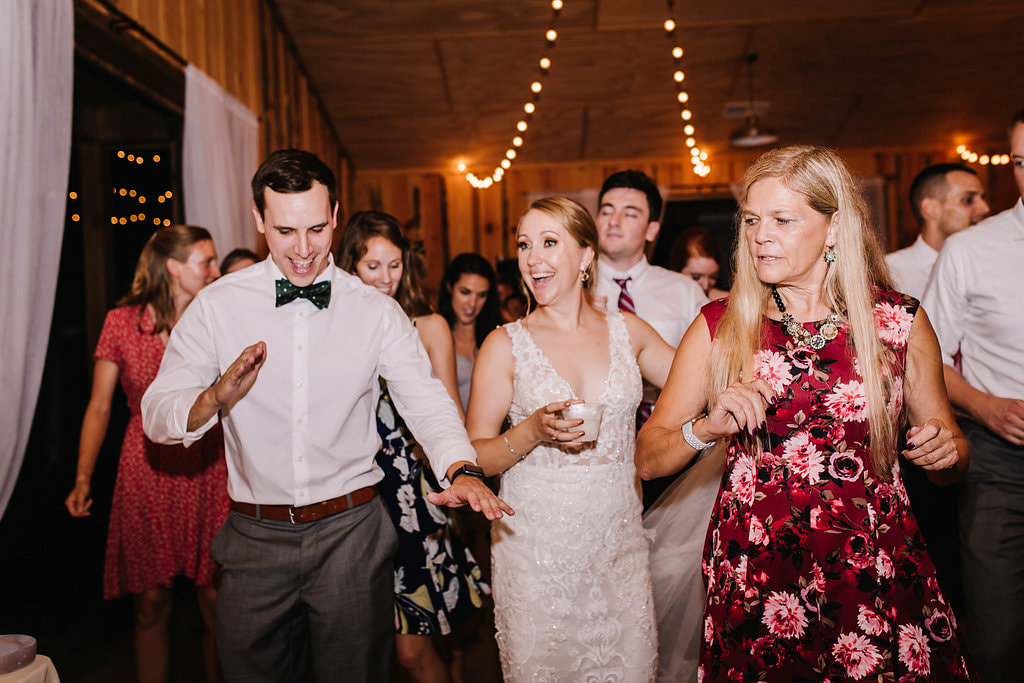 Reception dancing near Cartersville, GA